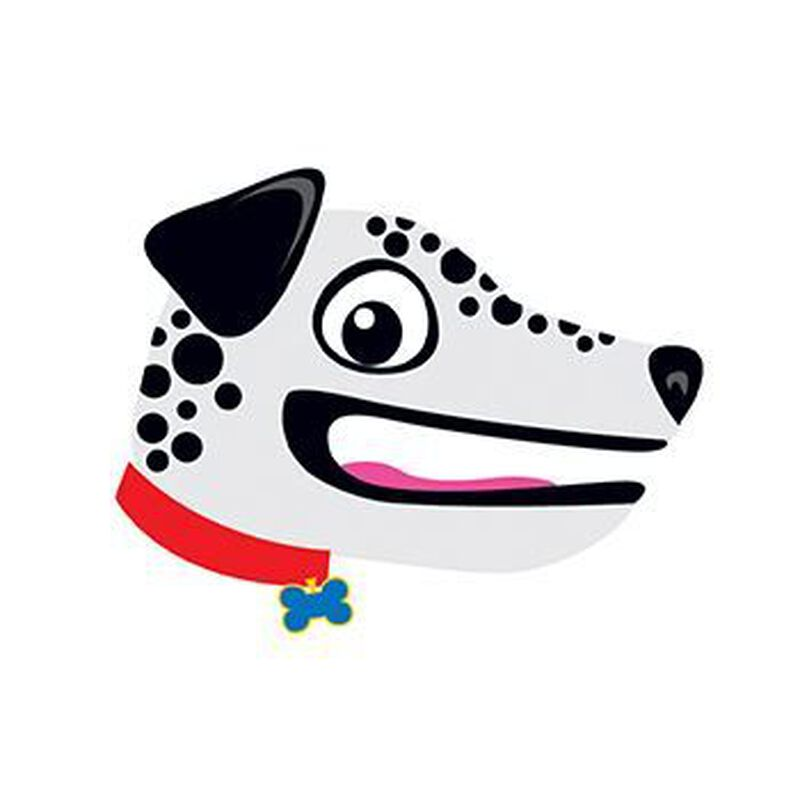 Dalmatian Hand Puppet Temporary Tattoo image number null