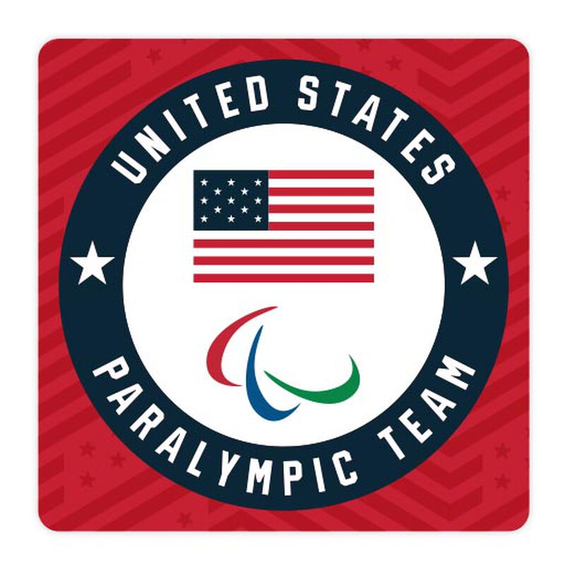team usa paralympics team circle sticker image number null