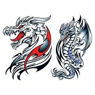 Knucker Dragons Temporary Tattoo Set