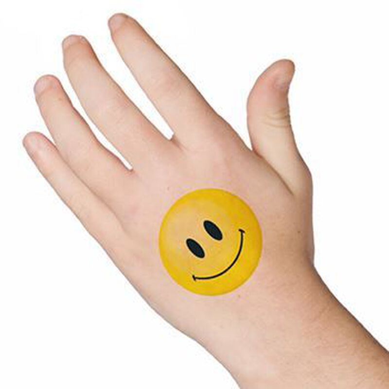 Smile Temporary Tattoo image number null