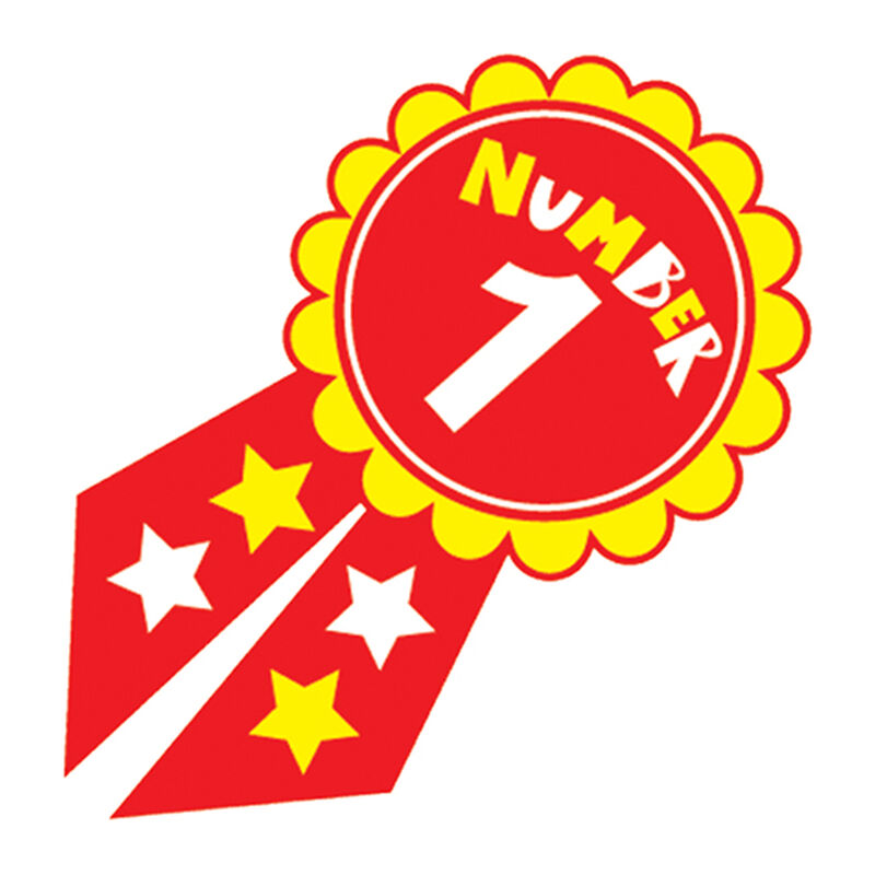 Number 1 Ribbon Temporary Tattoo image number null