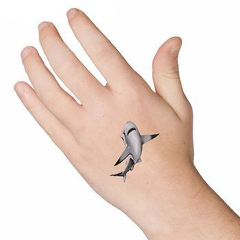 Shark Temporary Tattoo image number null