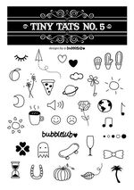 Tiny Tats No. 5 Temporary Tattoos