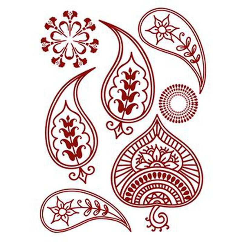 Henna: Floral Temporary Tattoos image number null