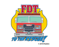 FDT To The Rescue Tonka Temporary Tattoo