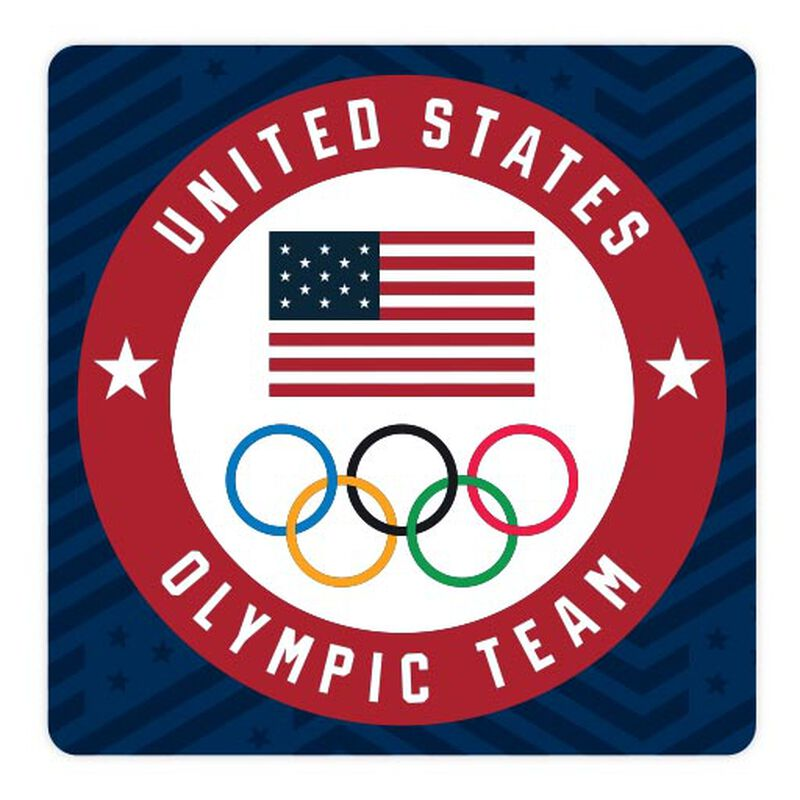 team usa olympic team circle sticker image number null