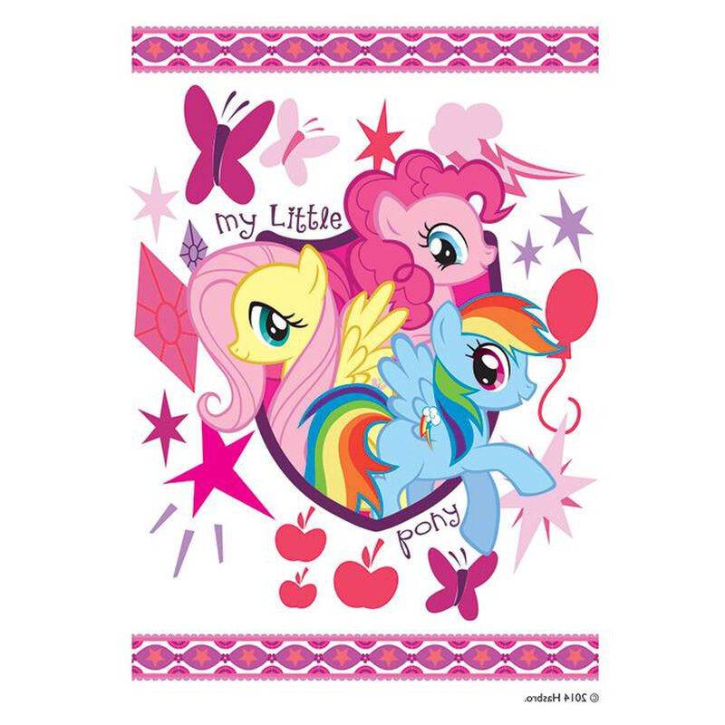My Little Pony Friends Temporary Tattoo image number null