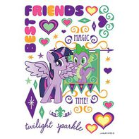 Terrific Twilight Sparkle Temporary Tattoo