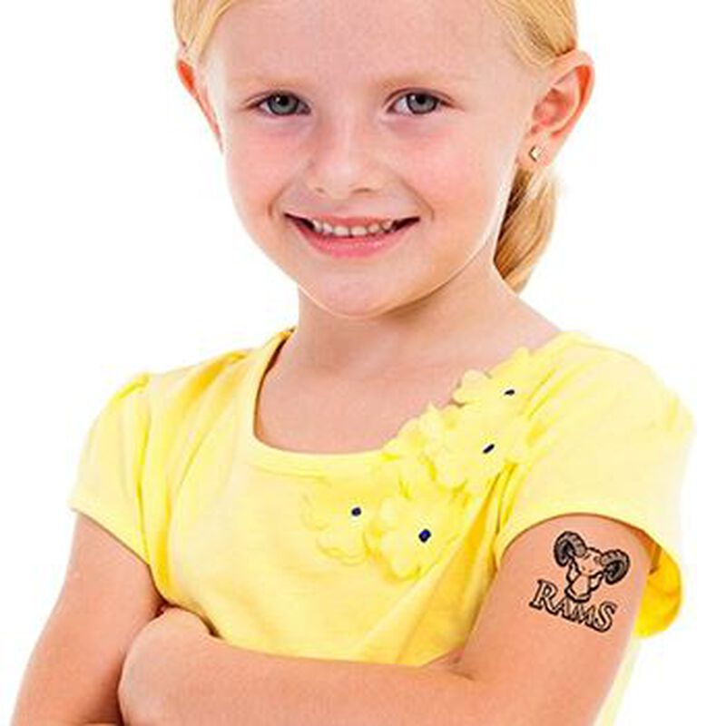 Rams Temporary Tattoo image number null