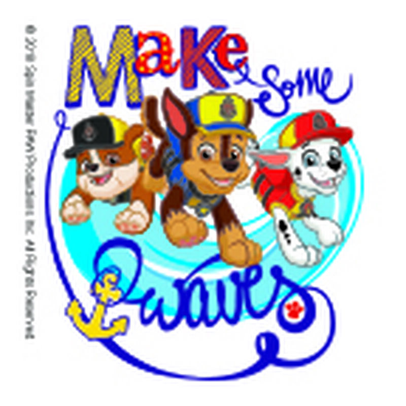 PAW Patrol Make Some Waves Temporary Tattoo image number null