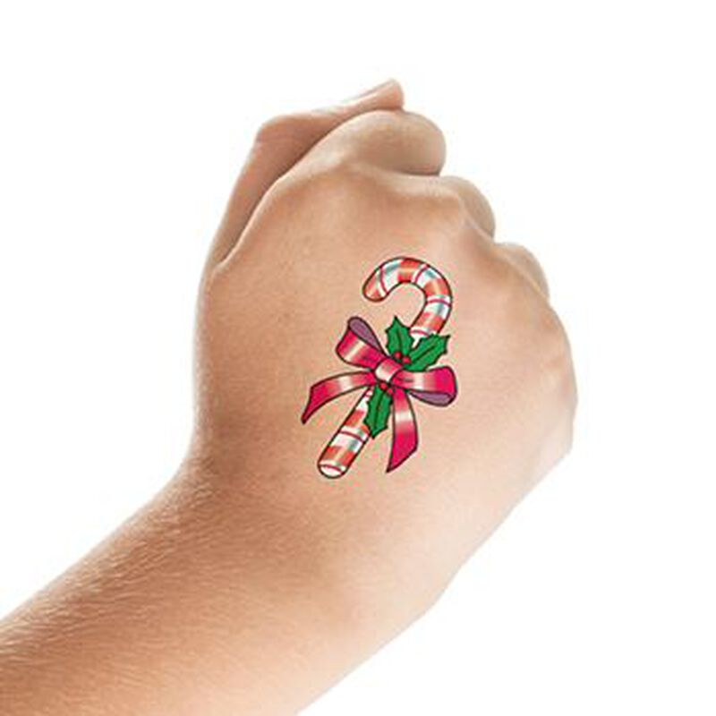 Christmas Spirit Set of Temporary Tattoos image number null