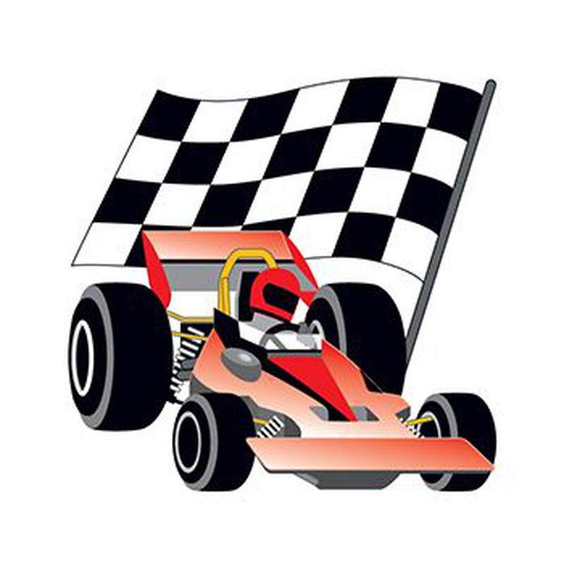 Race Car Temporary Tattoo image number null