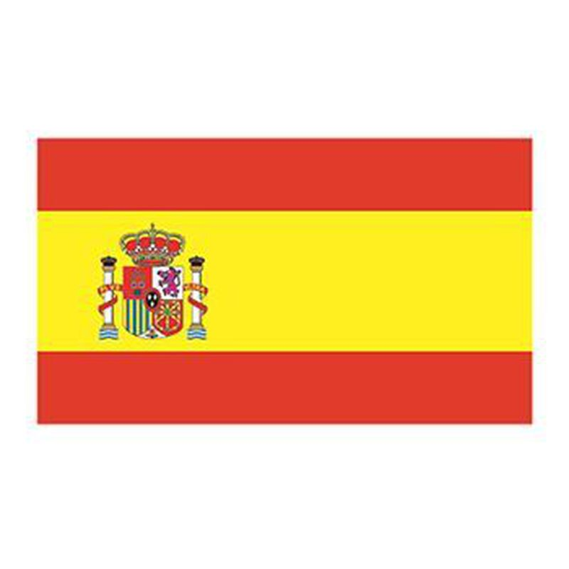Spain Flag Temporary Tattoo image number null