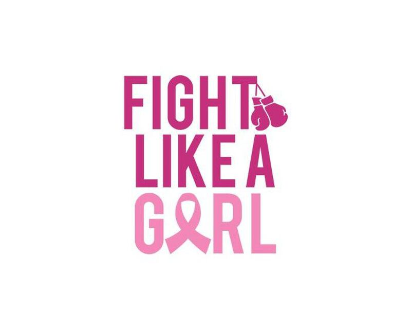 Breast Cancer: Fight Like a Girl Temporary Tattoo image number null