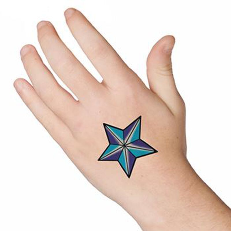 Nautical Star Temporary Tattoo image number null