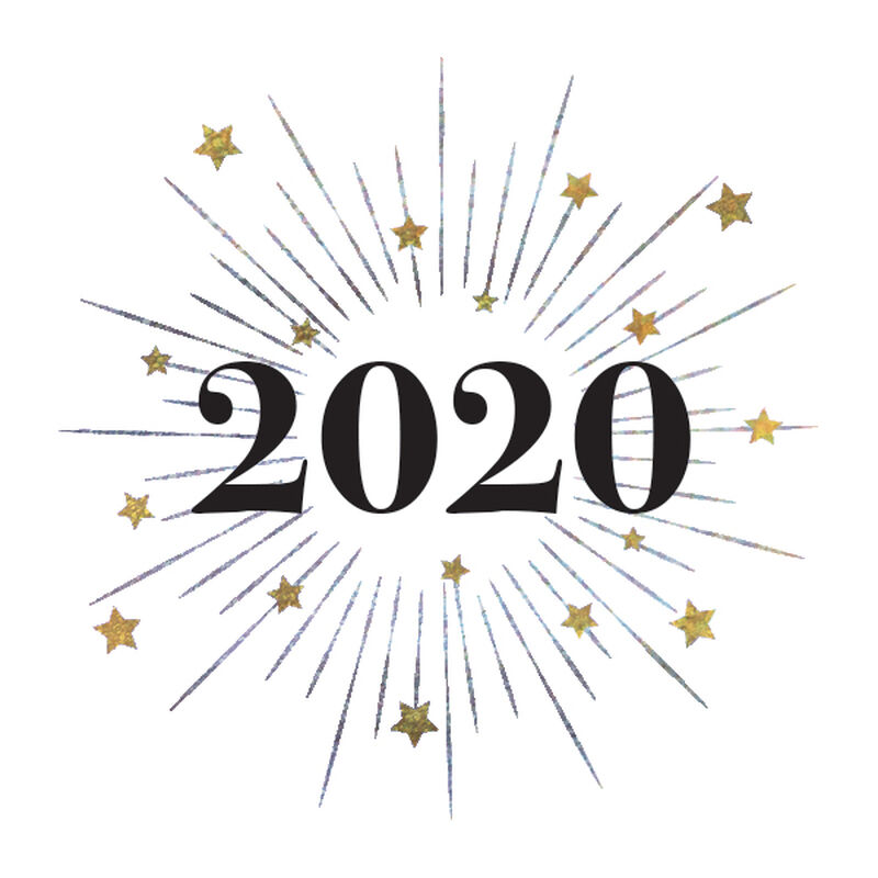 2020 Metallic Burst Temporary Tattoo image number null