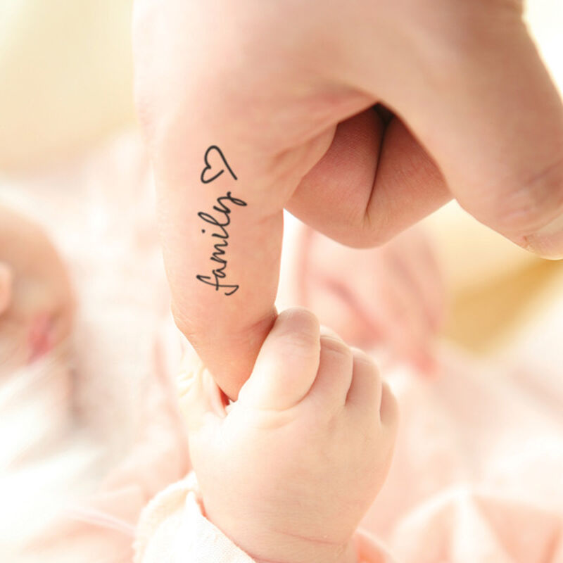 Family Love Temporary Tattoo image number null