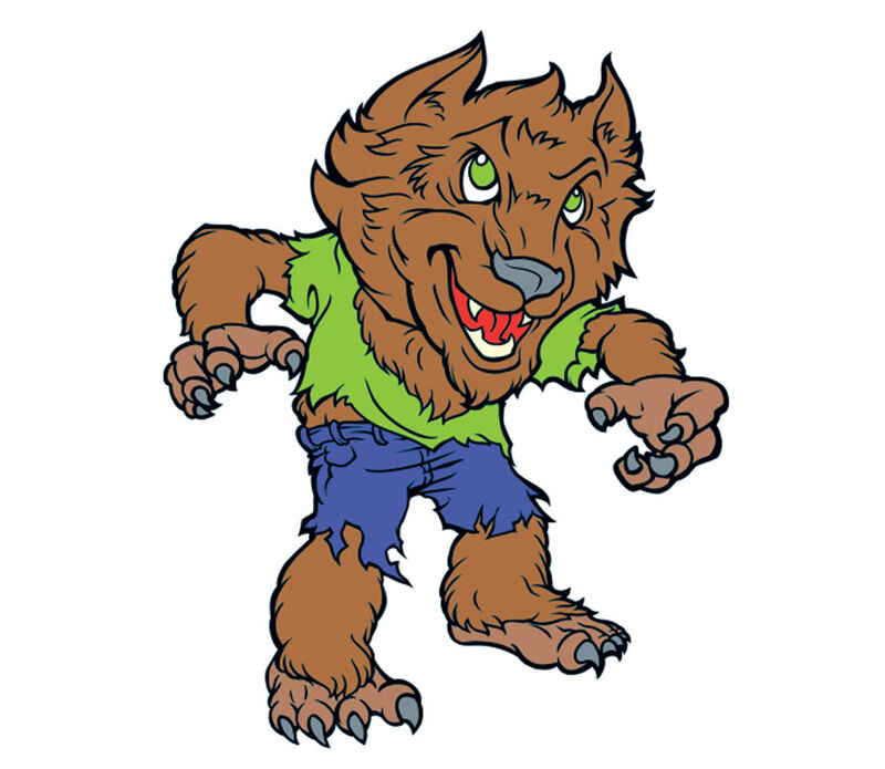 Kids Wolf Boy Temporary Tattoo image number null