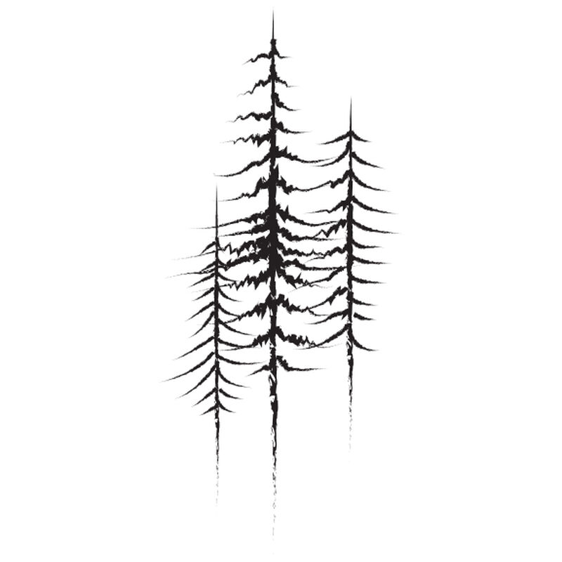 Trees Temporary Tattoo image number null