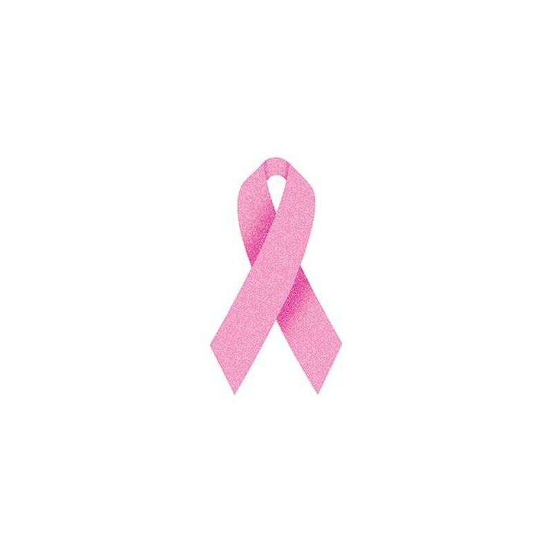 Glitter Pink Awareness Ribbon image number null