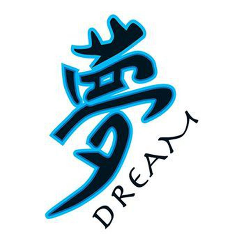 Kanji Dream Temporary Tattoo image number null