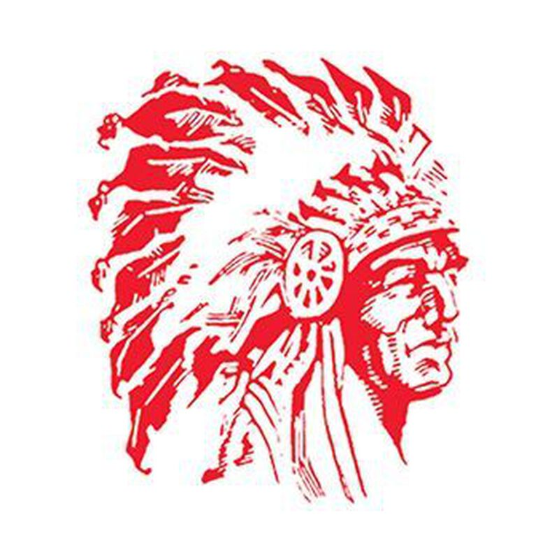 Small Red Indian Temporary Tattoo image number null