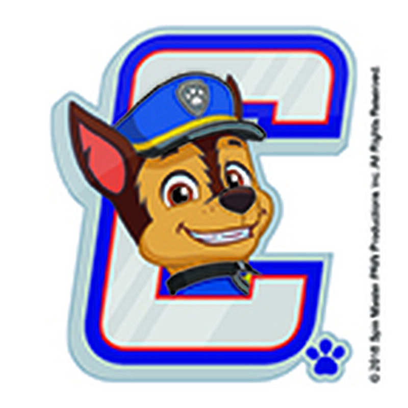 PAW Patrol Chase Badge Temporary Tattoo image number null
