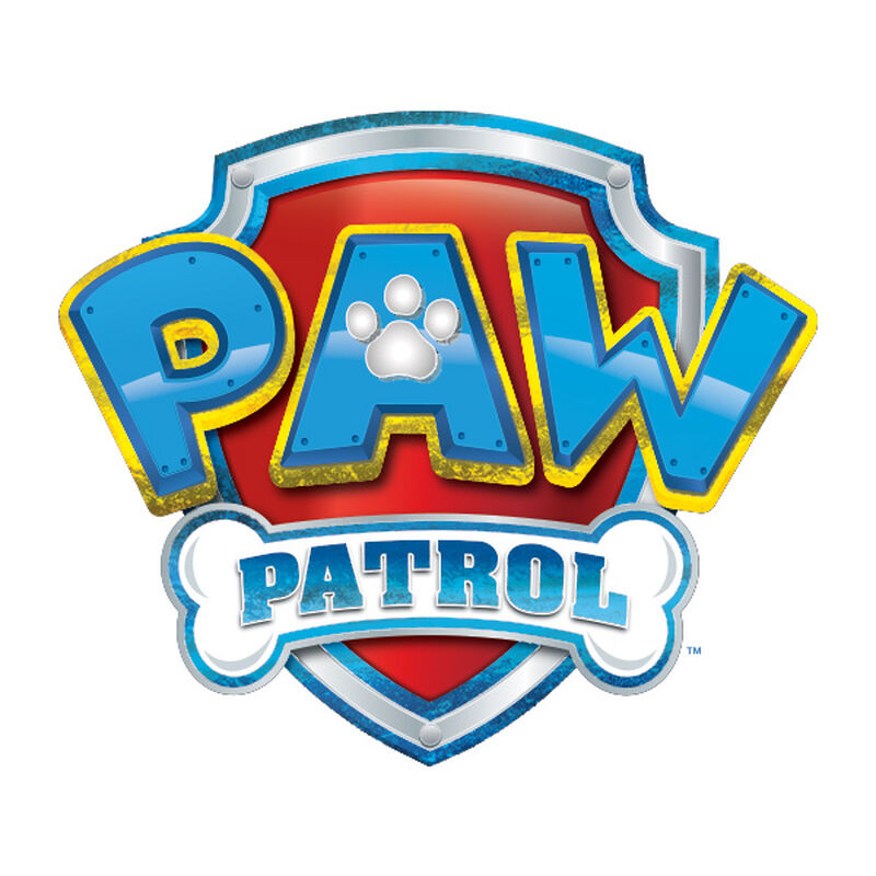 PAW Patrol Metallic Logo Temporary Tattoo image number null