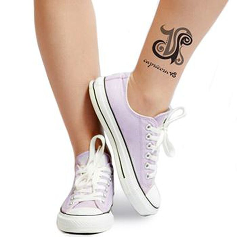 Zodiac: Capricorn Design Temporary Tattoo image number null
