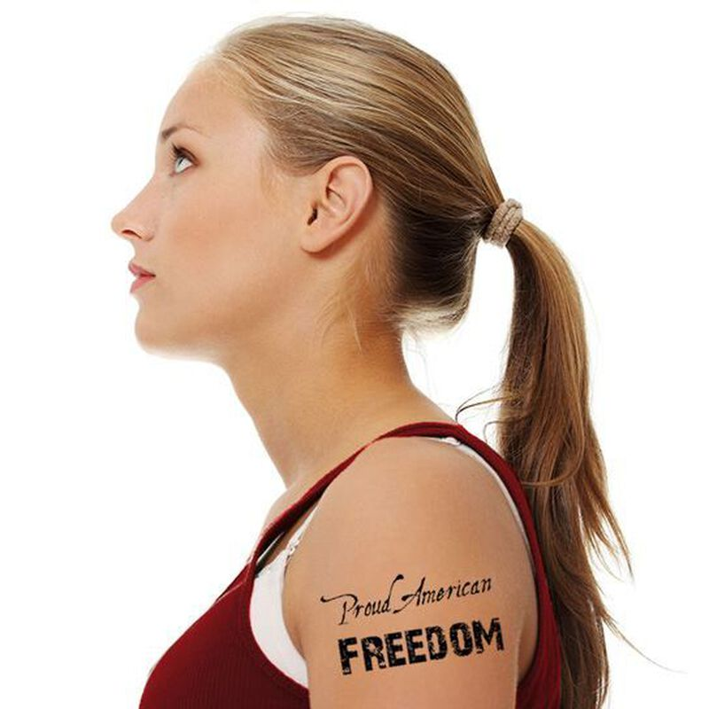 American Pride Temporary Tattoos image number null