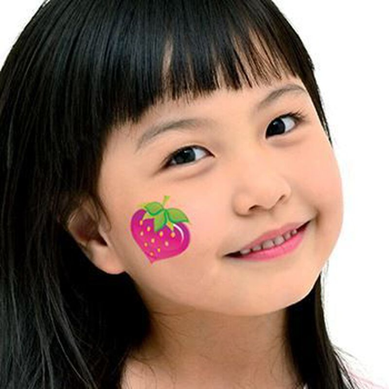 Strawberry Temporary Tattoo image number null