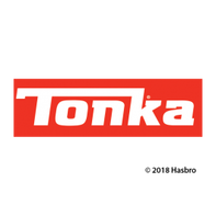 Red Tonka Logo Temporary Tattoo