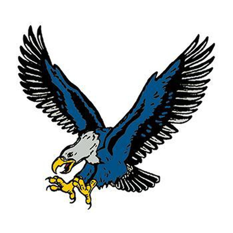 Blue Eagle Temporary Tattoo image number null