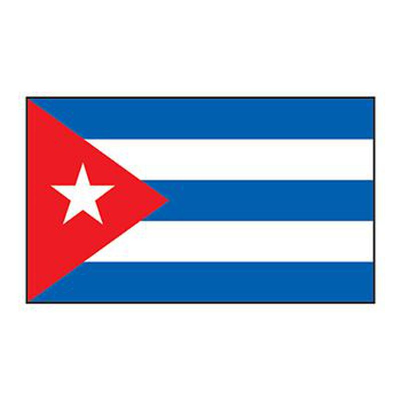 Cuba Flag Temporary Tattoo image number null
