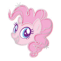 My Little Pony Pinkie Pie Metallic Temporary Tattoo