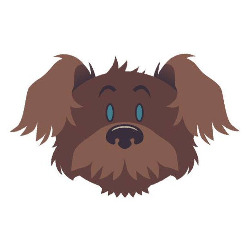 Scruffy The Dog Temporary Tattoo image number null