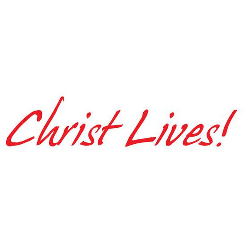 Christ Lives Temporary Tattoo image number null