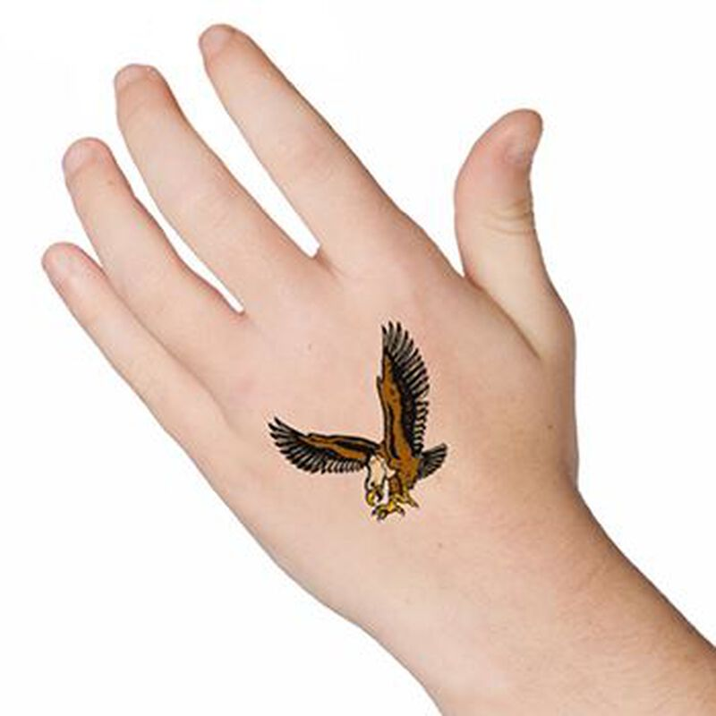 Flyin Eagle Temporary Tattoo image number null
