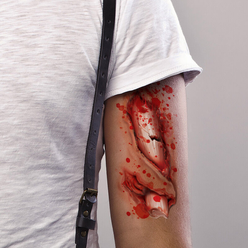 Compound Fracture Costume Tattoo image number null