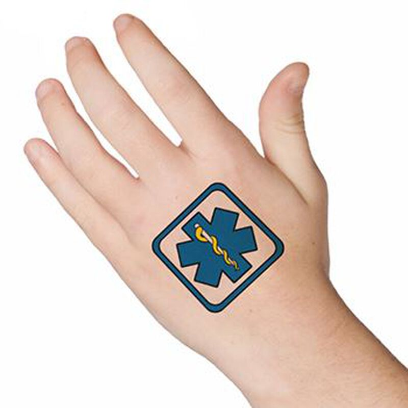 EMT Patch Temporary Tattoo image number null
