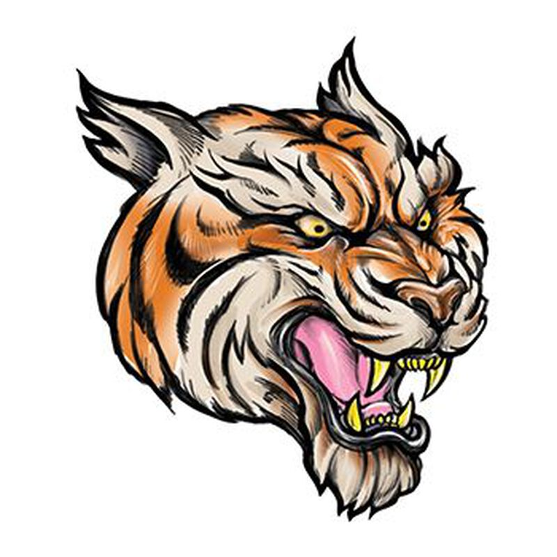 Tiger Temporary Tattoo image number null