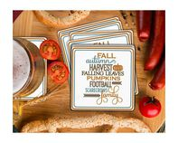 Autumn List Coaster Gift Box