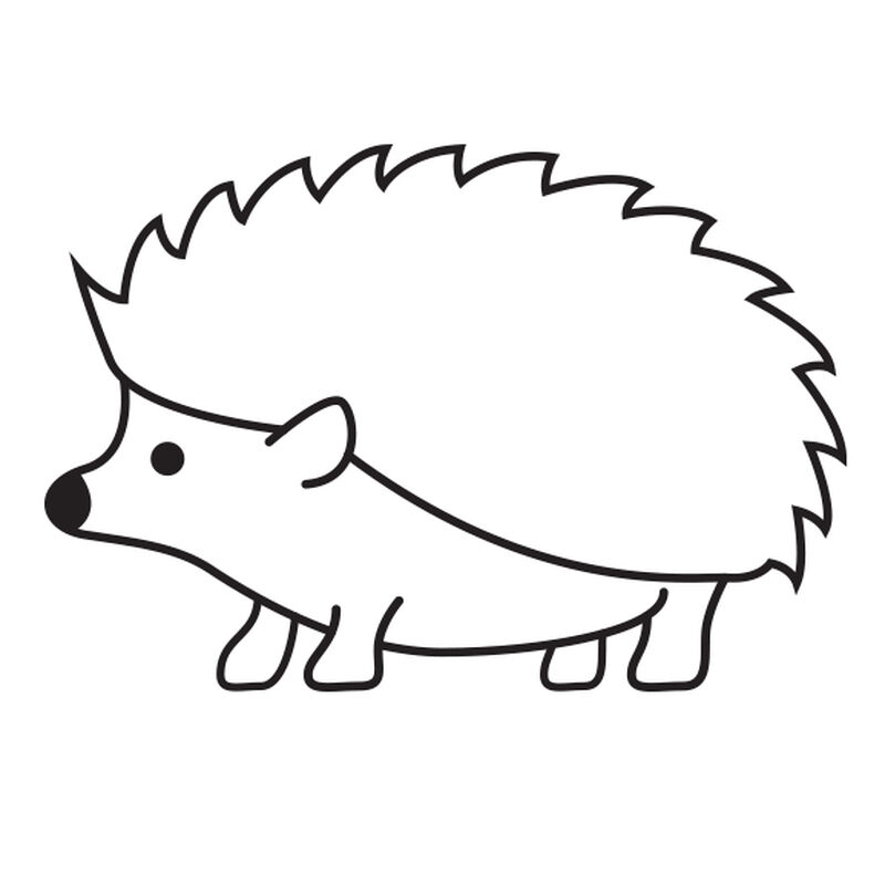 Hedgehog Temporary Tattoo image number null