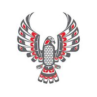 Haida Eagle Temporary Tattoo