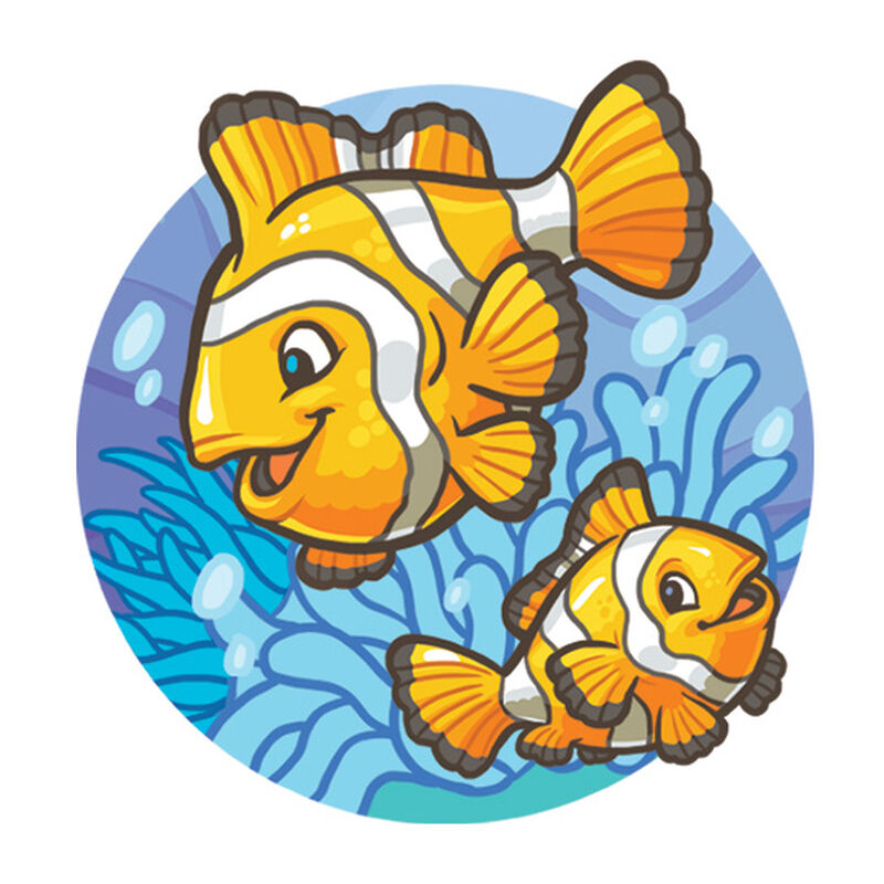 Clownfish Temporary Tattoo image number null