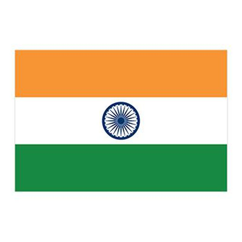 Flag of India Temporary Tattoo image number null