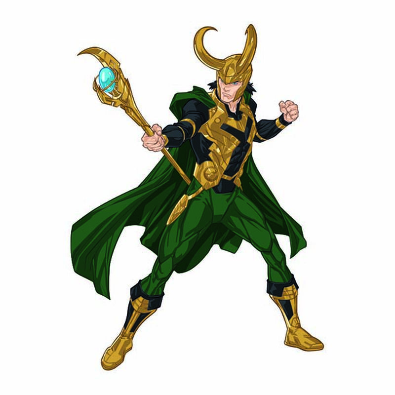 Avengers Loki Temporary Tattoo image number null