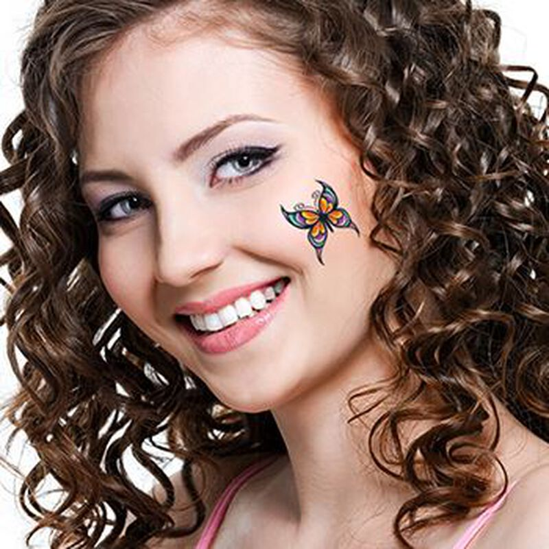 Modern Butterfly Temporary Tattoo image number null
