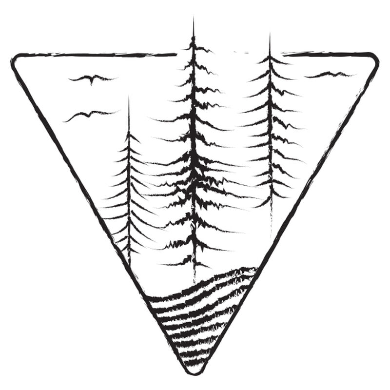 Mountain Trees Temporary Tattoo image number null