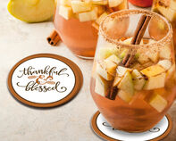 Thankful & Blessed Coaster Gift Box